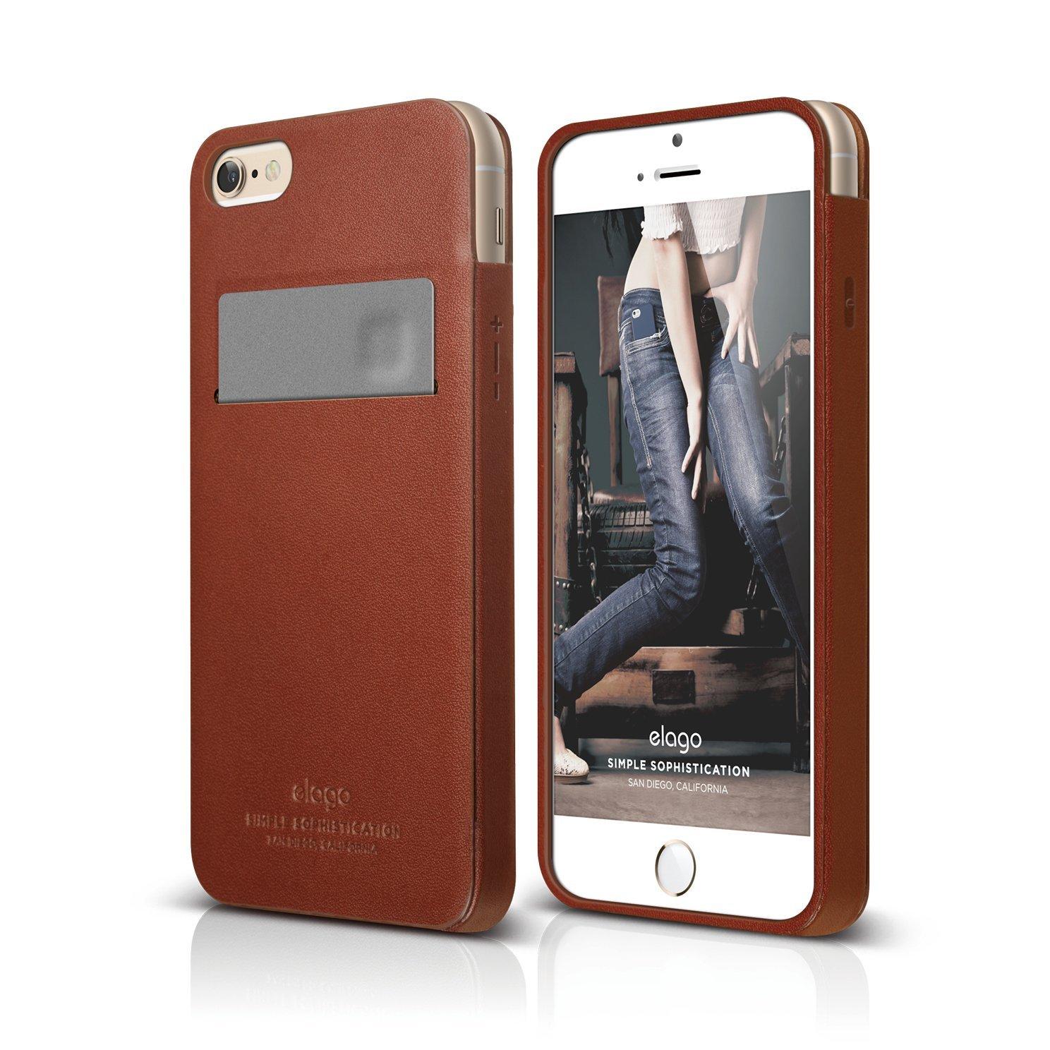 S6 Genuine Leather Pocket Case For Iphone 6 6s Elago Europe